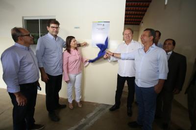 A inauguração das obras foi realizada, com a presença do governador Mauro Carlesse, nesta quinta