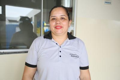 A professora Francisca salienta que, com a nova estrutura a expectativa é por melhorar ainda mais o Ideb