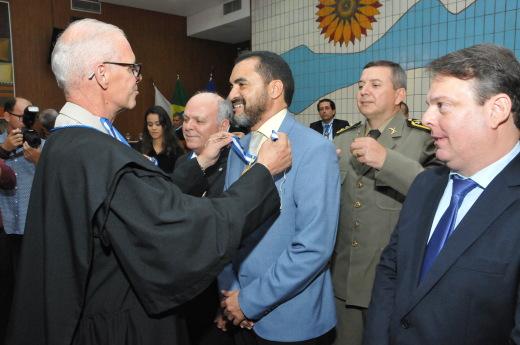 Wanderley Barbosa considerou que a homenagem foi um reconhecimento pelo que ele já fez pelo Tribunal de Contas e pelo Estado