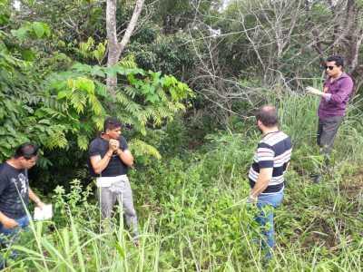 Suspeito participa de reprodução simulada do crime em Palmas