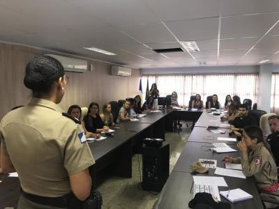 A reunião ocorreu na sede da Defensoria Pública em Palmas.