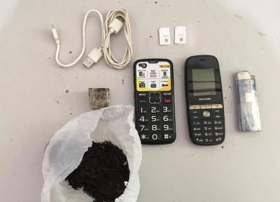 Objetos foram encontrados dentro de bloco de concreto nas dependências da UPF Palmas