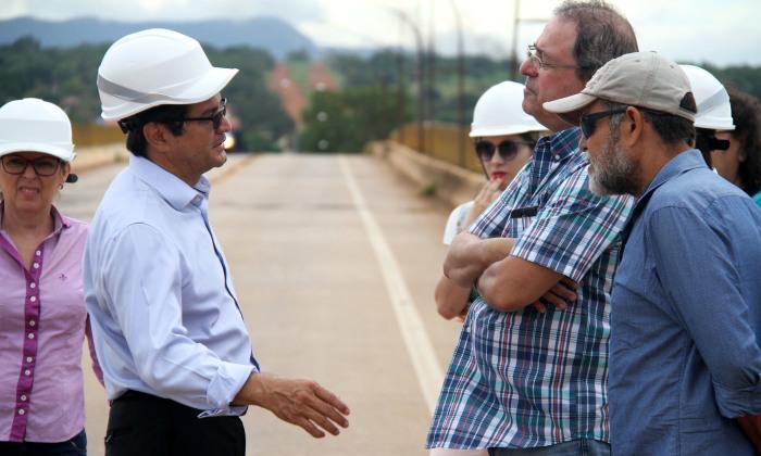 Especialista e os técnicos detalharam as medidas a serem implantadas para a elaboração do relatório sobre a segurança da ponte