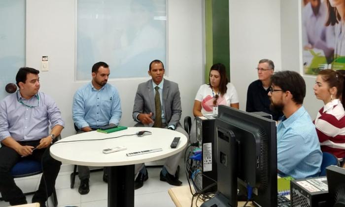 A videoconferência foi realizada na sede do Sebrae/TO, em Palmas