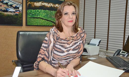 Denise Rocha Domingues assume a Agência de Fomento
