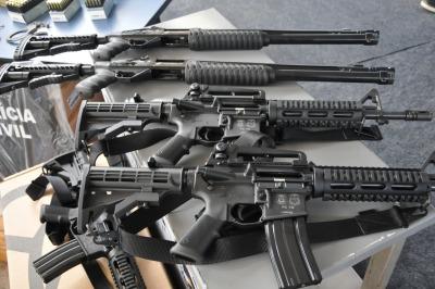 Novas armas longas são entregues a Polícia Civil