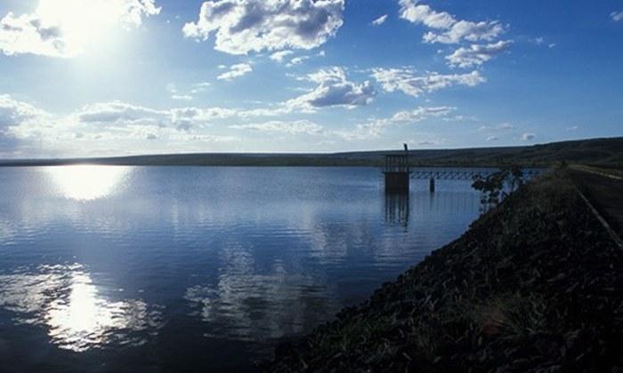 Reservatório da barragem de Santa Maria (DF)