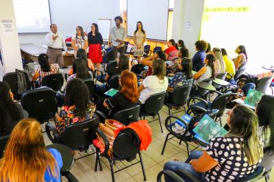 Capacitação de Coordenadores, Supervisores e Visitadores do Programa Criança Feliz