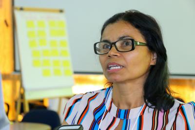 Eva Miranda, diretora de Proteção Básica de Ananás