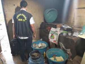 Apreensão de queijos em Pequizeiro