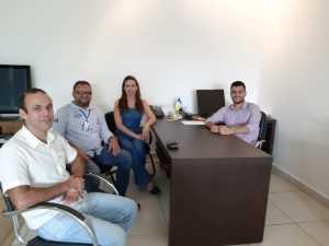 Equipe técnica da Metrologia Estadual se reúne com permissionário