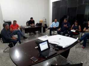 Secretário Halum e equipe técnica discutem estratégias para realização da Agrotins 2019