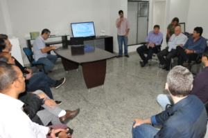 Reunião com representantes de instituições parceiras do setor da piscicultura