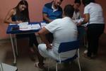 Reeducandos recebem atendimento médico na CPPA de Araguaína.