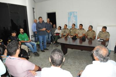 O secretário da Seagro, César Halum, destacou que o principal é garantir a segurança do cidadão e das empresas na Agrotins
