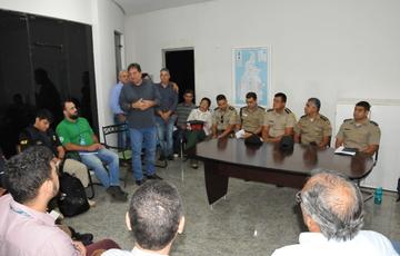 Reunião discutiu assuntos como vistorias, segurança, infraestrutura, logística, funcionamento e trânsito