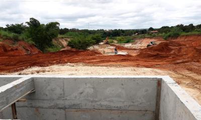 Obras irão facilitar o tráfego no local.