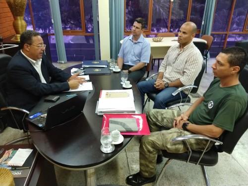 Integrantes do Ciopaer trouxeram informações sobre a atuação do helicóptero no Jalapão e outras regiões do Estado