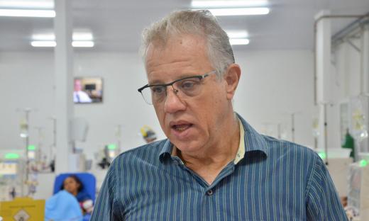 Médico nefrologista da Fundação Pró Rim, Antônio Amadeu Parisotto Giannese