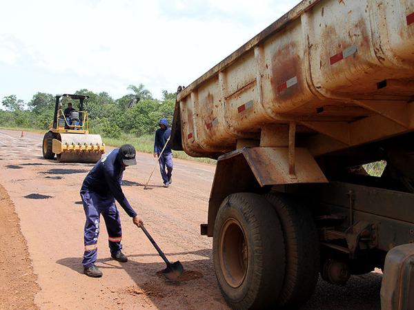 Manutenção garante trafegabilidade nas rodovias do estado