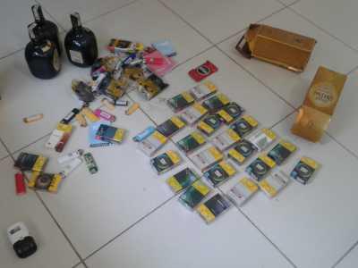Produtos furtados de bar são recuperados pela Polícia Civil