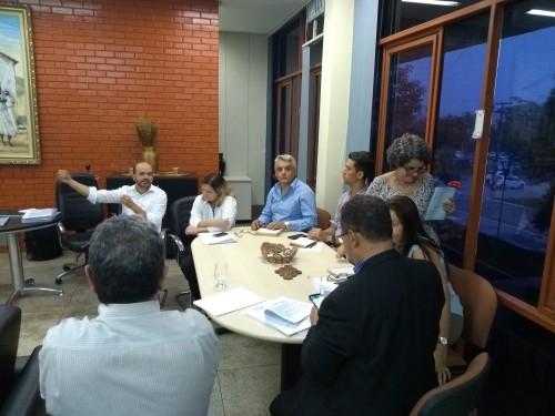 Equipe da Cultura apresentou projeto ao presidente e ao jurídico da Adetuc