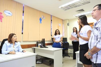O Dia do Ouvidor foi comemorado com conscientização na Seduc