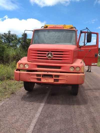 Caminhão recuperado pela PM