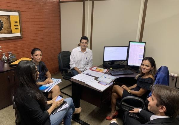 Reunião aconteceu na sede da PGE em Palmas