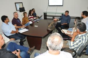 Secretário César Halum e instituições públicas se reúnem para trará de ampliação da Agrotins