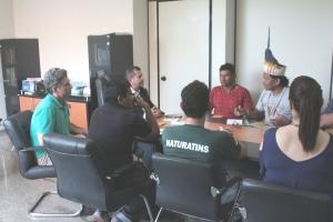 Naturatins recebe Associação Indígena Nrozawi, União Indígena Xerente e representantes da Funai Araguaia - Tocantins_Foto Tânia Caldas (1)_300.jpg