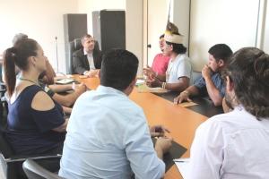 Naturatins recebe Associação Indígena Nrozawi, União Indígena Xerente e representantes da Funai Araguaia - Tocantins_Foto Tânia Caldas (2)_300.jpg