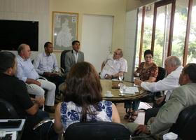 Secretário e técnicos da SICS discutem demandas do setor com  representantes do segmento