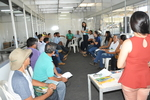 Produtores da agricultura familiar durante palestras na Agrotins 2018