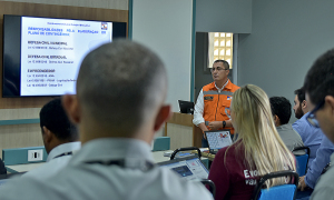 Durante a visita também foi apresentado aos empreendedores o planejamento na elaboração dos planos de contingência para as barragens do Tocantins