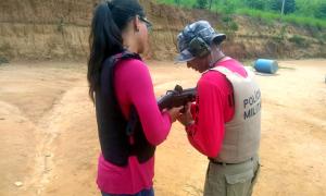 Objetivo é proporcionar o aprimoramento técnico profissional dos militares, sobre emprego e uso de armas de fogo