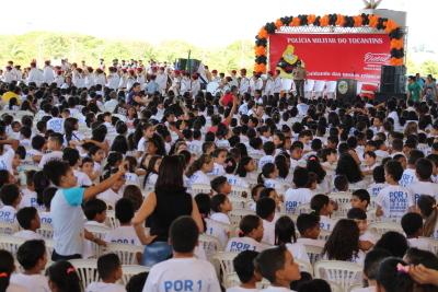 Formatura de 1.000 alunos em Palmas