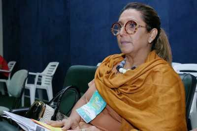 Adriene Gomide, Secretária de Assistência Social da cidade de Alvorada