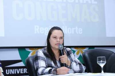 Secretária de assistência social de Araguaína e presidente estadual do Colegiado de Gestores Municipais de Assistência Social do Tocantins – Coegemas, Fernanda Ribeiro