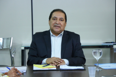 Messias Araújo deu boas vindas aos novos membros e falou sobre a importância do Programa Criança Feliz (PCF) para o futuro das novas gerações