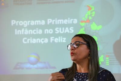 Katilvânia Guedes apresentou os números oficiais das execuções do Programa no Tocantins em 2018