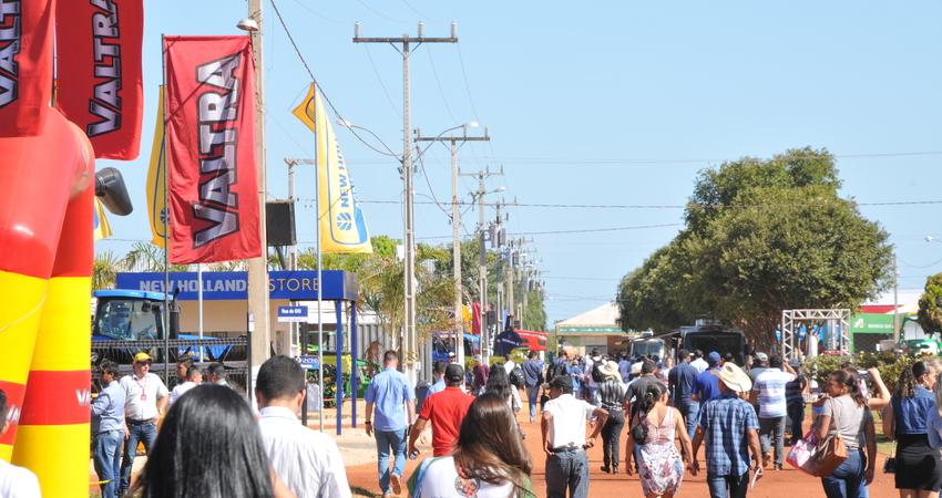 A Agrotins está entre as maiores do Brasil, e a maior feira de agronegócios da região Norte do Brasil