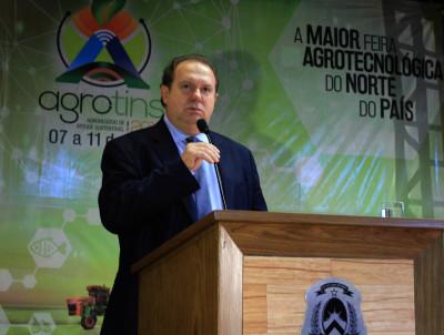 Governador Mauro Carlesse destacou que a Agrotins é grande vitrine para produtores do Tocantins
