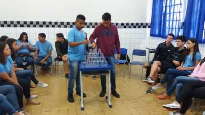 As ações voltadas ao combate ao bullying foram realizadas no Colégio Sagrado Coração de Jesus, de Porto Nacional