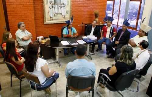 Também ocorreu reunião na Adetuc