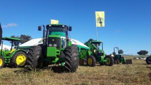 Expositores de máquinas e equipamentos agricolas vão estar Agrosudeste