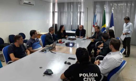 A SSP realizou reunião técnica no início deste mês com o objetivo de alinhar ações e discutir estratégias para a futura aquisição e implantação do sistema Abis