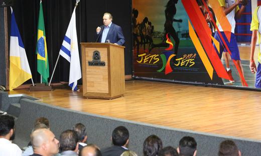 O Jets/Parajets foram lançados oficialmente no dia 4 de abril, com a presença do governador Mauro Carlesse, da secretária Adriana Aguiar