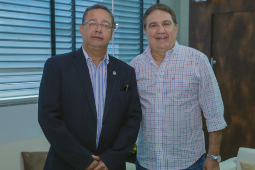 Em Gurupi, Tom Lyra se reuniu com prefeito Laurez Moreira para discutir projetos para o fomento do turismo da região sul