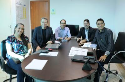 Reunião aconteceu na sede da ATS em Palmas na manhã desta sexta-feira,12